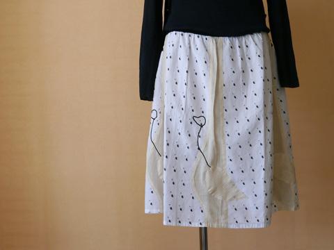 SI-HO SUP シーホースプ ダウニングスカート ¥18,000(税別)