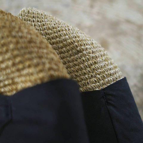 hat : TERAI craftment カディーリボンハット