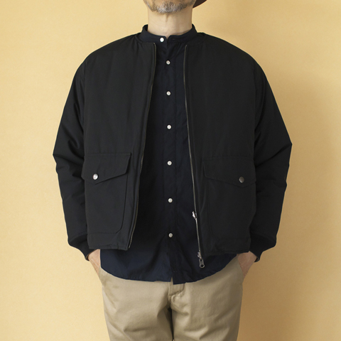 V-LAP REVERSIBLE QUILTED JACKET