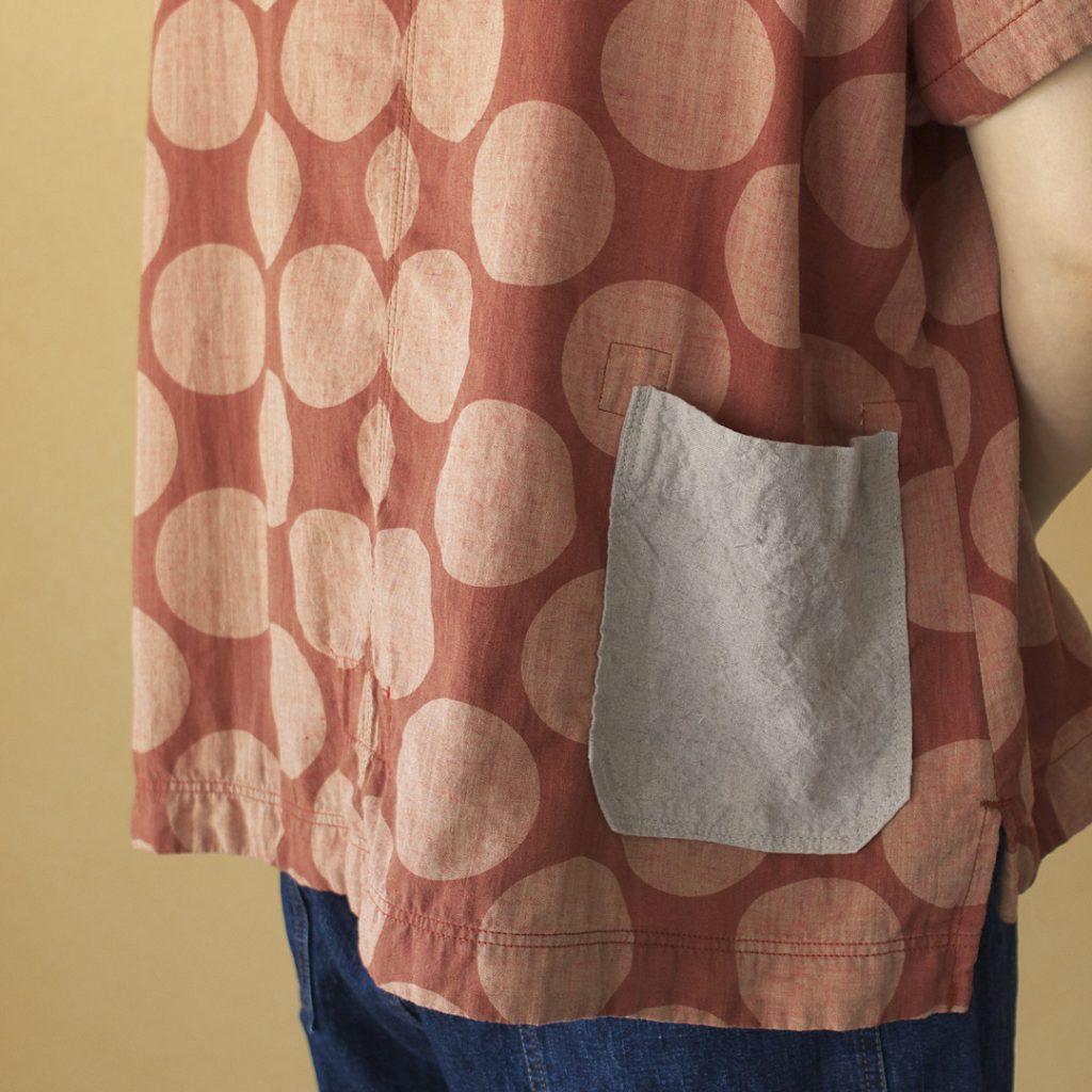 快晴堂 カイセイドウ 大きな水玉 Girl's Tシャツ