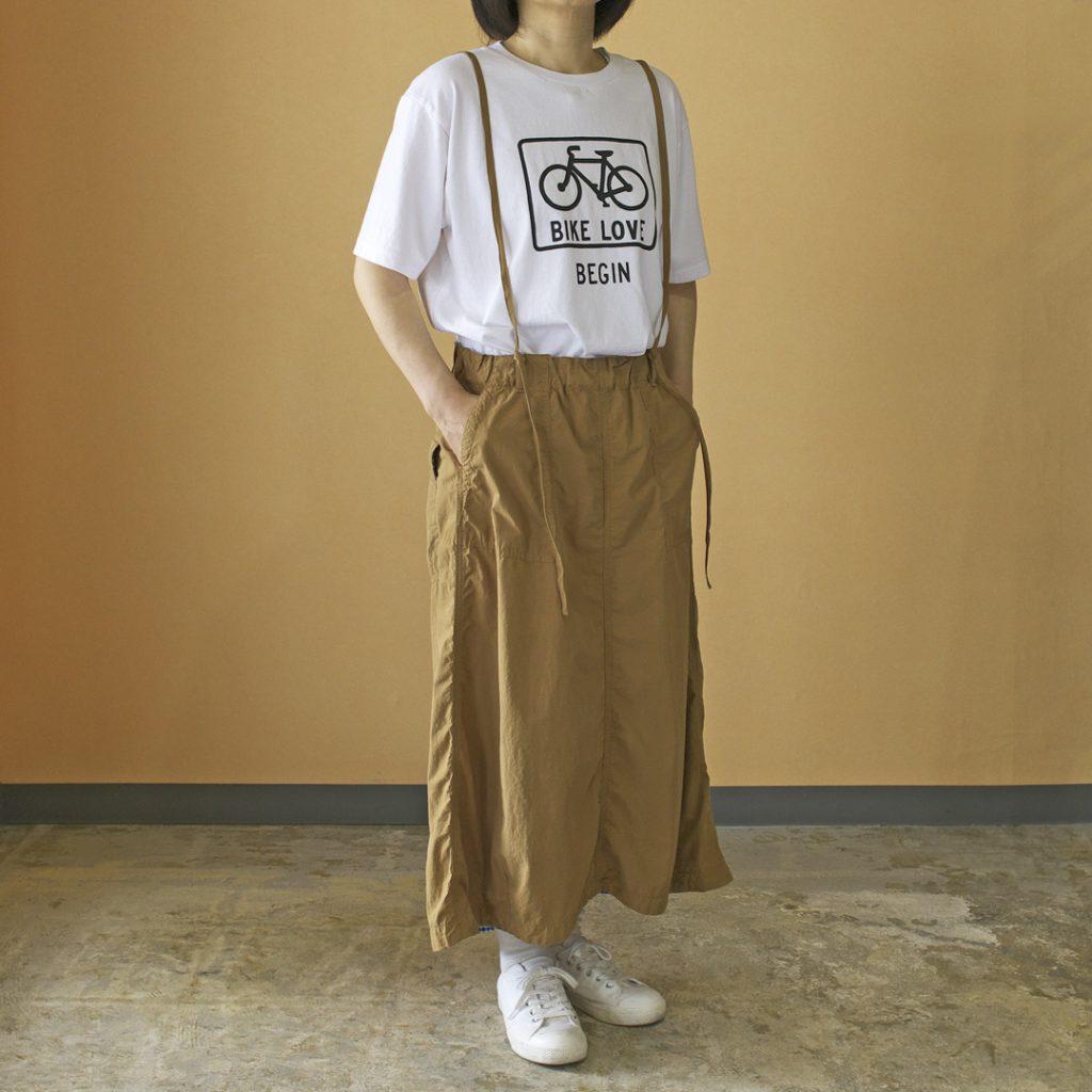 快晴堂 カイセイドウ バイク UNI Tシャツ バイクレーン BIGIN