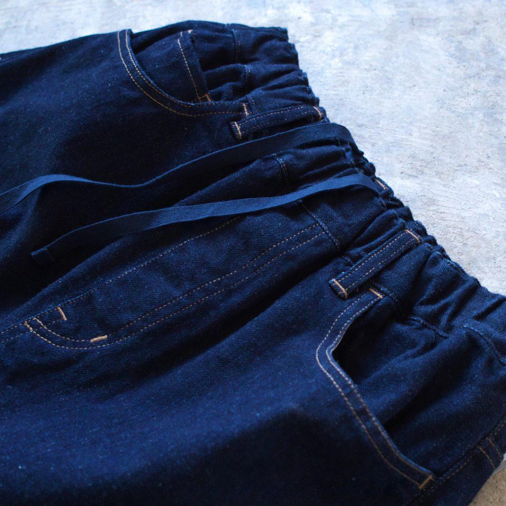 TRAVAIL MANUEL トラバイユマニュアル セルビッチデニム5ポケットパンツ