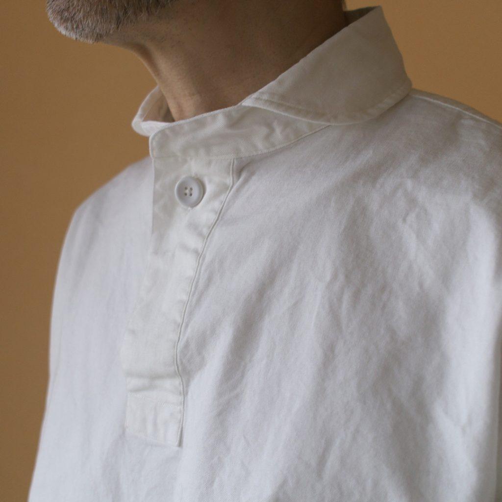 LOLO ロロ 定番オックスプルオーバーシャツ