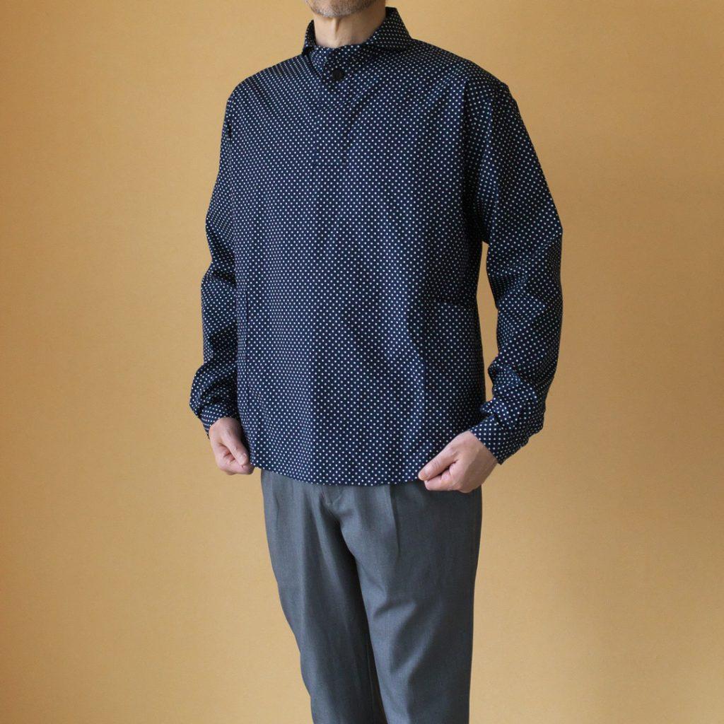 LOLO ロロ 2LS63 LOLOLIKE 定番プルオーバードットシャツ