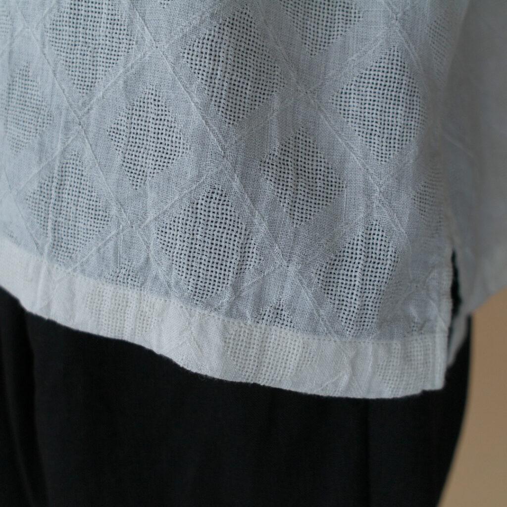 エヴァムエヴァ jacquard pullover ジャガードプルオーバー