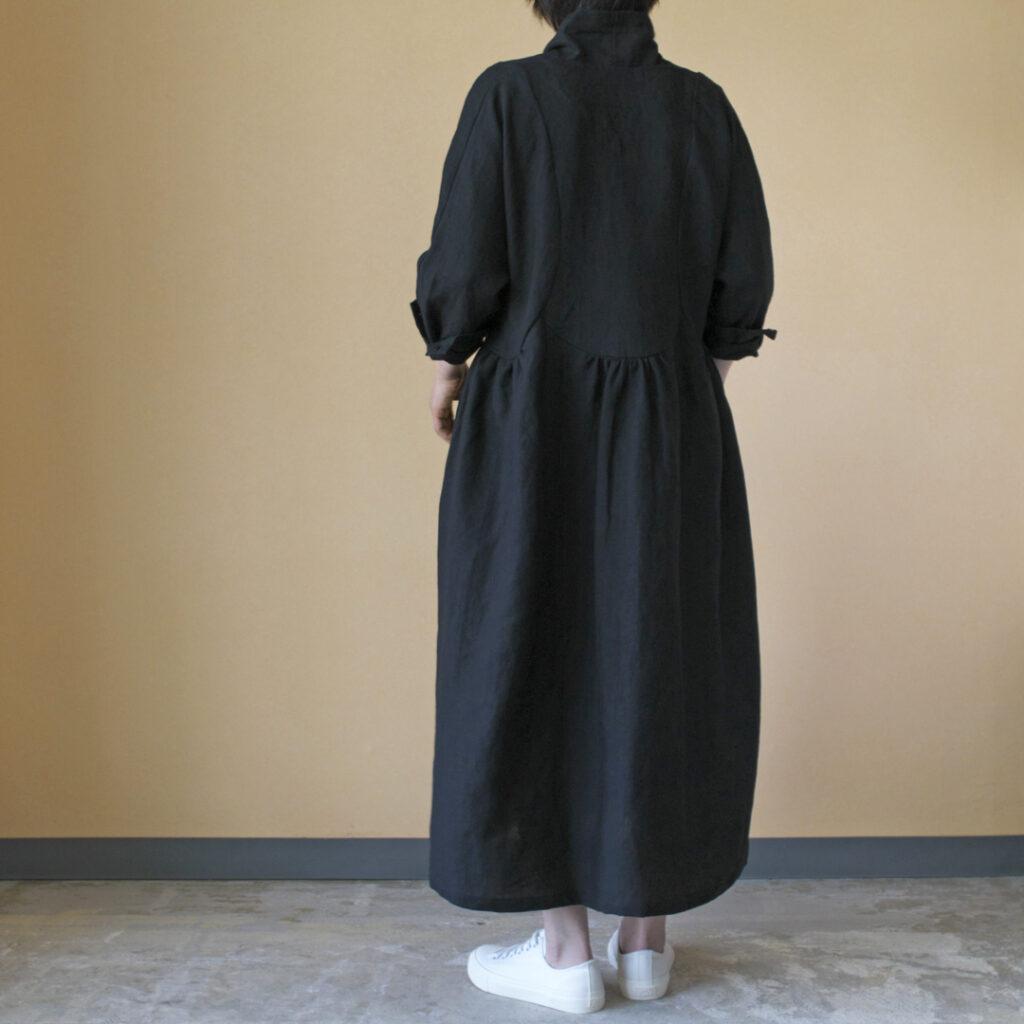 MAGALI マガリ 強撚リネン・ローブコート