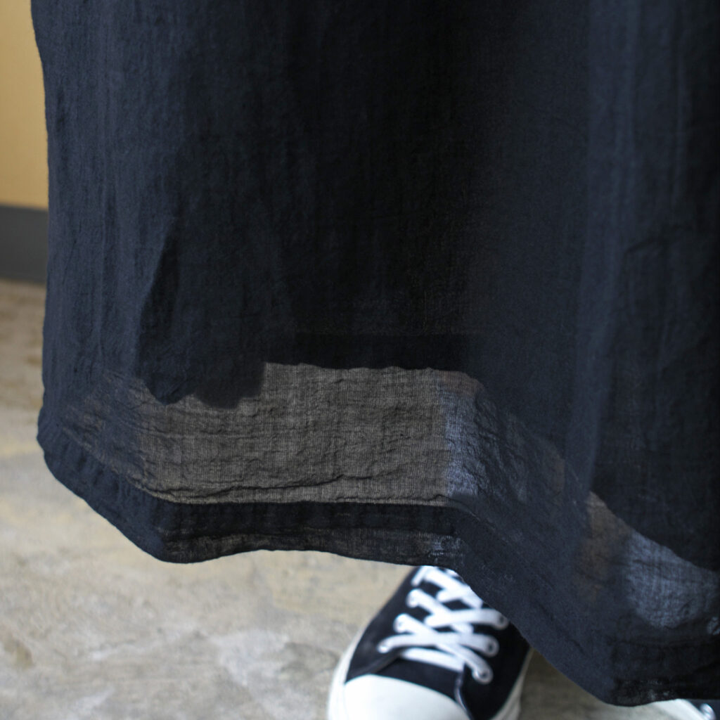 ARMEN アーメン ・ユーティリティーイージーギャザースカート