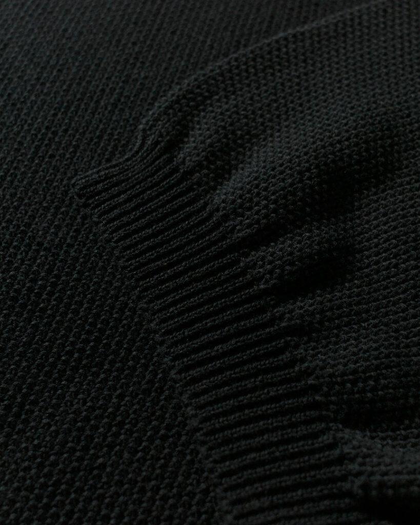 Manual Alphabet マニュアルアルファベット all time knit kanoko crew オールタイムニット鹿の子クルー