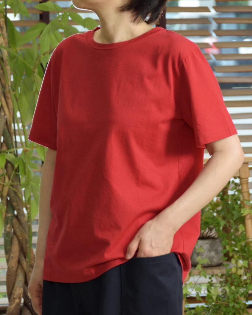 Gauze# ガーゼ G636 ソリッドTシャツ